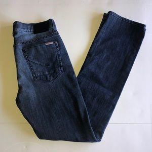 Hudson Byron 5 Pocket Straight Medium Wash Jeans